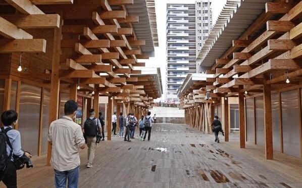 东京奥运村首次公开亮相:设施简约环保 美食多样