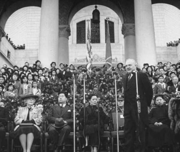 宋美龄在美国的墓只有3平方米,晚年称自己痛恨政治