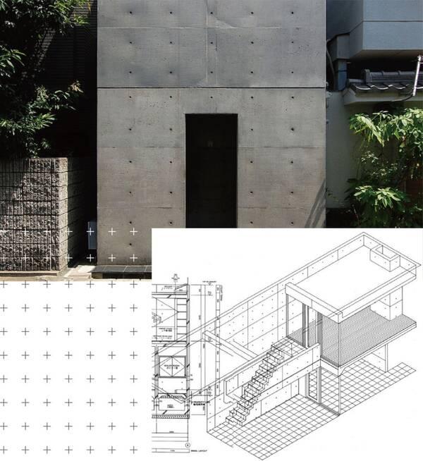 结构上,中庭使用无顶设计,保证各房间都要从中庭进入,全屋未开设对外