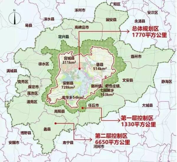 徐水区最新规划图