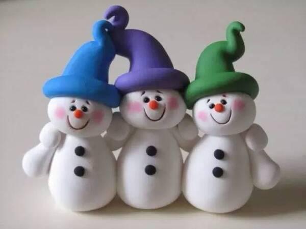 下雪啦!幼儿园雪人创意手工制作大全