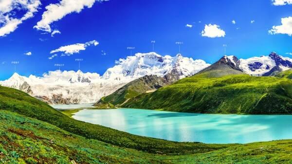 萨普,川藏中线令人震撼的风景