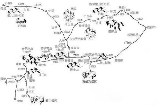 盘点30条从川贵渝出发的自驾游宠物,一个月一5.4攻略魔兽世界升级路线图片
