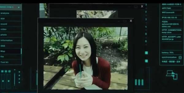 甚至在中田秀夫的新片《虽然只是弄丢了手机》的先导预告片也是采用