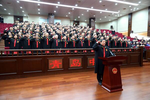 青岛法院今年共受理案件18.6万件 审执结16.1万件