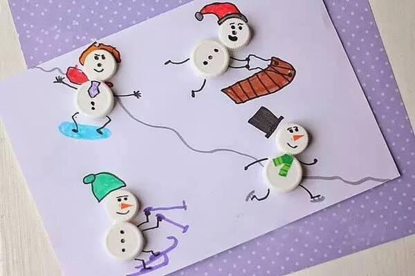 幼儿园雪人创意手工制作大全