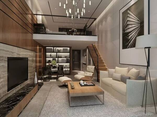 今天小编给大家简单介绍一下loft复式公寓的装修方法图片