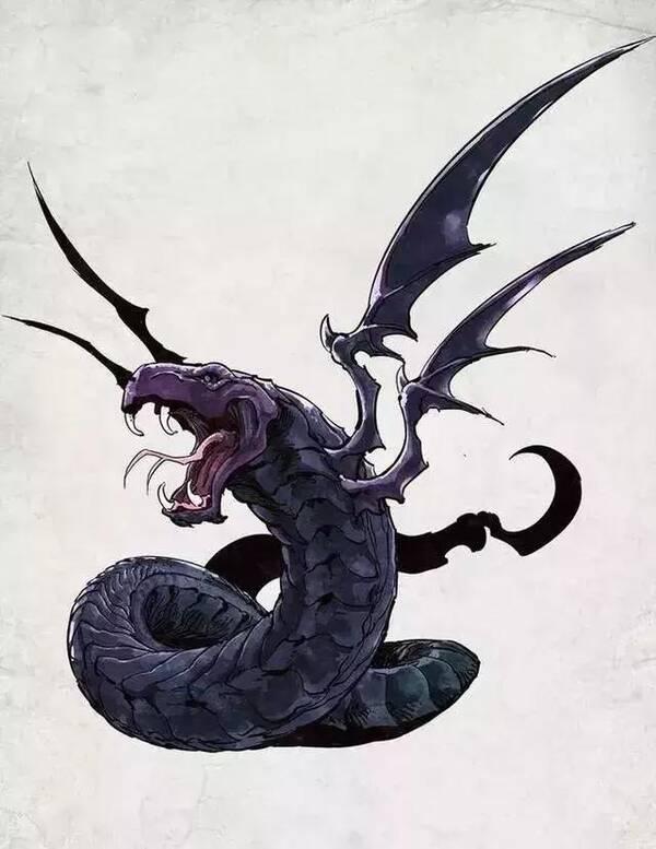 上古时期五大凶蛇,可颠倒昼夜,与创世大神女娲相似