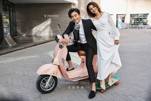 纪实ins时尚街拍婚纱照 街拍才是检验摄影技术的唯一图片