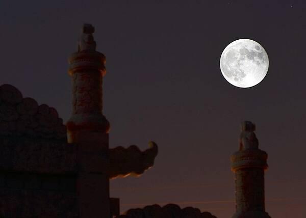 2019超级月亮!1月20日首次上演 2月1...