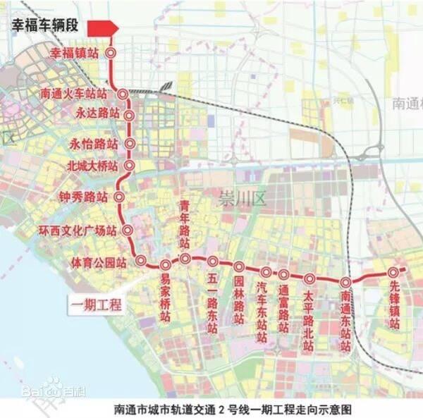 【克而瑞南通】地铁2号线周边那些项目.
