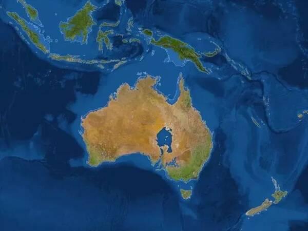 亚洲,山东半岛分成两个孤岛