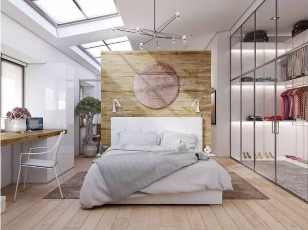 如何在卧室设计一个小型衣帽间?