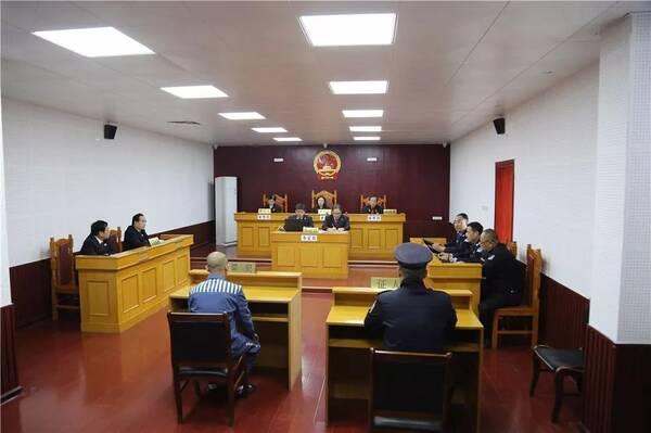 自治区高级人民法院在桂林监狱公开开庭审理三