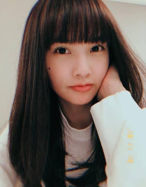 杨丞琳剪个齐刘海,瞬间从34岁美回18岁,网友:恶魔在图片