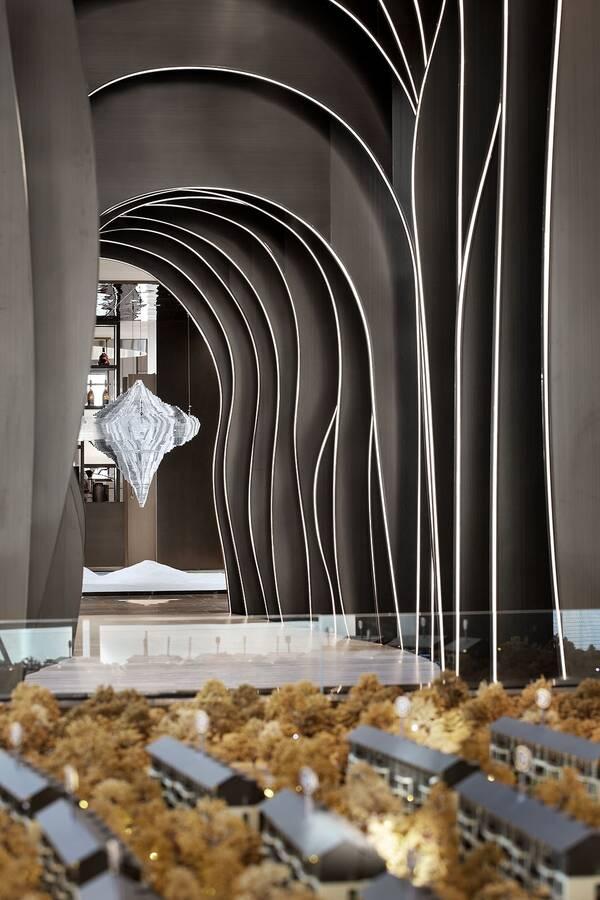 远洋天瑞宸章售楼处|ideal_ylh地产设计组_欧模手术室设计图图片