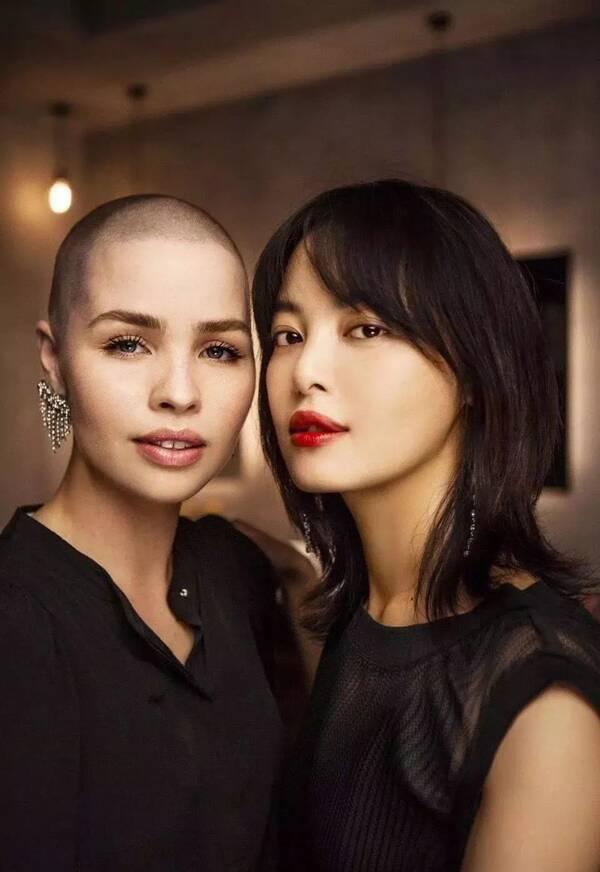 除了辛芷蕾的短发,这些女星的发型修脸,洋气还显瘦!图片