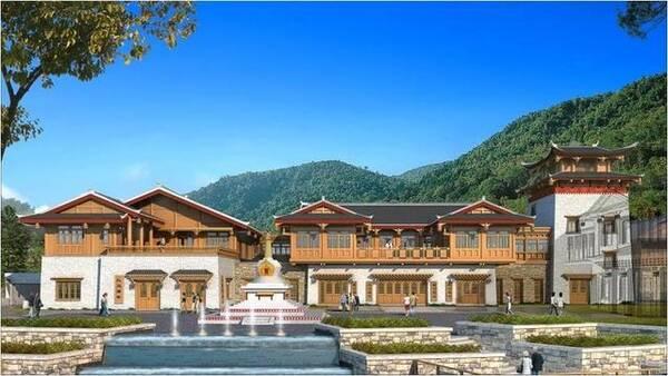 以藏文化为脉络,汲取纯正藏族风格,打造纯正藏式贵族体验场.图片