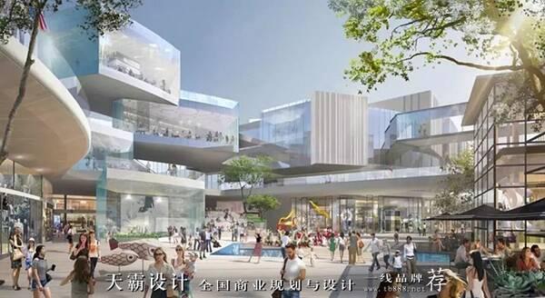 杭州未来科技城两大商业设计项目欣赏-洞察城市价值