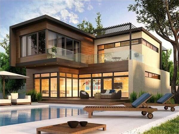 13套2层新颖精致小别墅设计户型,经济实惠上档次