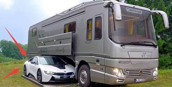 进口a型大巴房车 自驾游走遍欧洲,车子底盘还能藏宝马?图片