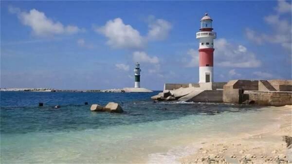 南沙群岛上的中华风名片:我国美济岛的最高建筑,被称