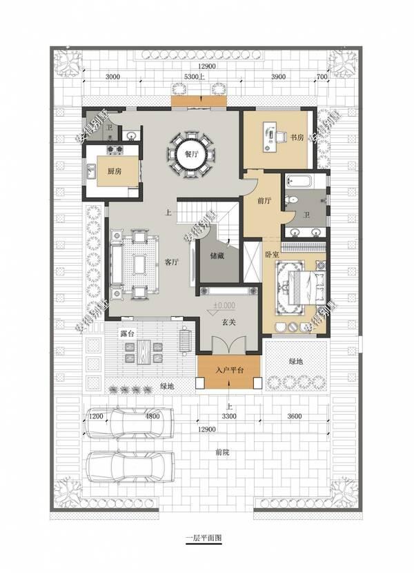 16米9米格局设计图纸