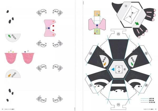 就会自动展开 释放出藏在折纸中的动物 有兴趣钻研的小伙伴可以买本