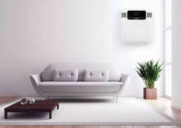 想要室内空气清新还不闷,壁挂式新风满足你的需要!萧山墙纸专卖店图片