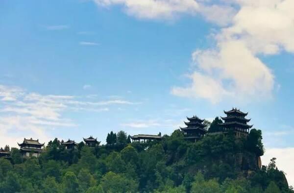 玉皇坝位于巴中市通江县,至今仍是传统农耕文明.图片