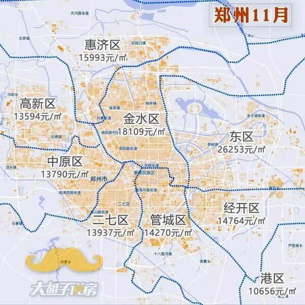 房价真跌了?2018年11月热门城市房价地图出炉!