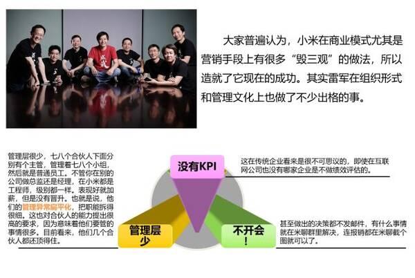 2019小米组织结构图