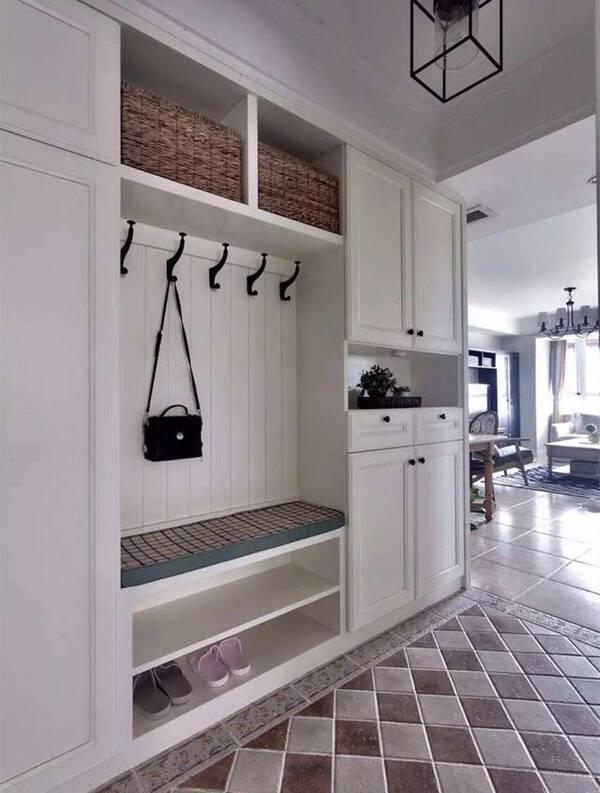 15个玄关鞋柜装修案例,让你家从进门开始美,邻居看一图片