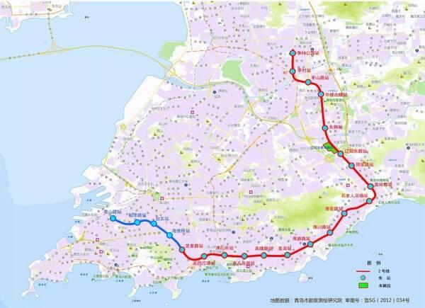 官方回应,未来串联胶州湾!青岛2019年首条计划开通地铁有了时间表!