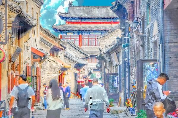 【动漫】从没见过的二次元古城,每一帧都美得像壁纸!图片