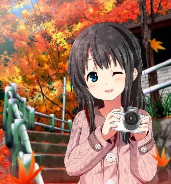 动漫头像:可爱女生系列,听说喜欢笑的女生性格都很好!