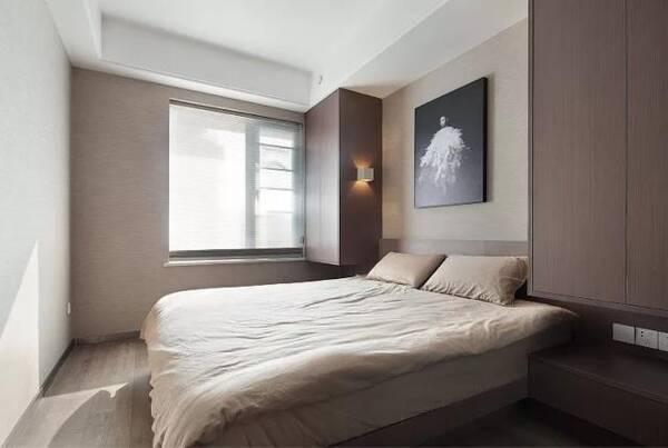 """贤惠媳妇,给电视墙设""""凹槽"""",次卧床头装衣柜,实用极了图片"""