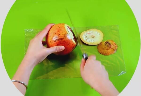 水果横切简笔画