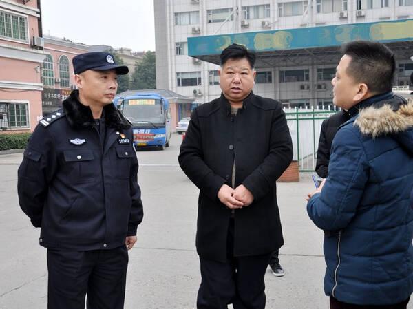 郑立军_鼎城:开展常南汽车总站安全督导检查工作