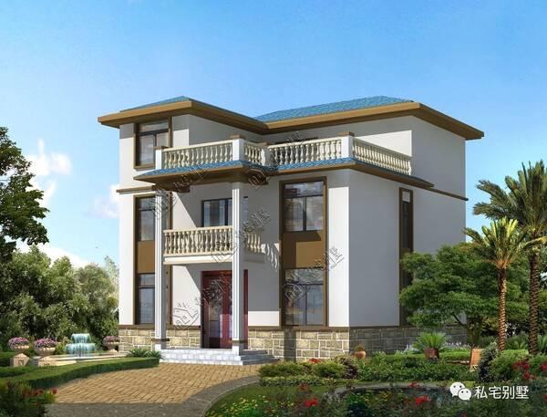 欧式简约三层别墅,两种漂亮外观,你喜欢哪种?