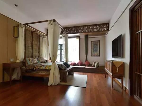 有钱人都特别偏爱新中式装修,这屋子的女主人一看就特别喜欢买买