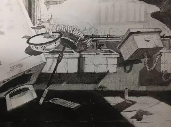 清华美院 | 设计素描考卷100张赏析