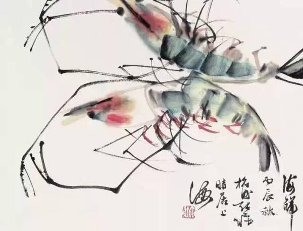 江寒汀是当代海派花鸟画第一人,为近现代海派小写意花鸟最重要代表