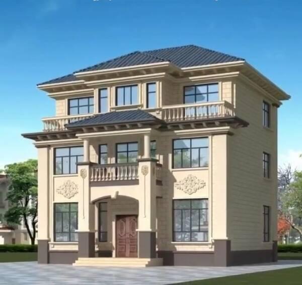 农村最实用的三层别墅设计方案(含室内装饰效果推荐)