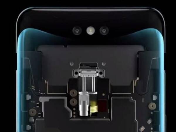 实际上在点亮屏幕需要3d结构光解锁时或点击摄像图标时隐藏模组就会