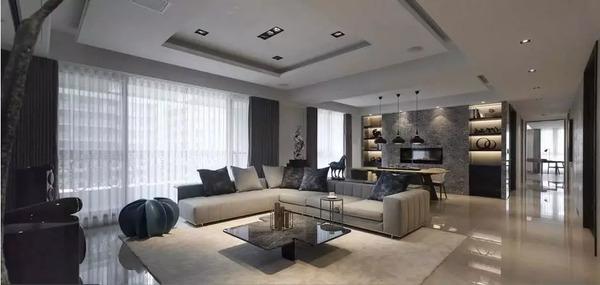 使用帖丨客厅沙发一齐竟该摆L型还是壹字型?