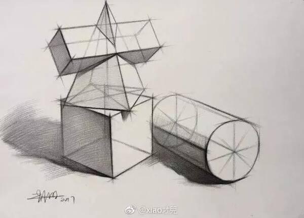 画好中国素描,结构透视非常重要,值得收藏学习,超详细