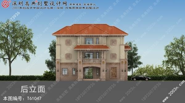 农村楼房设计图片大全首层185平方米别墅设计图纸