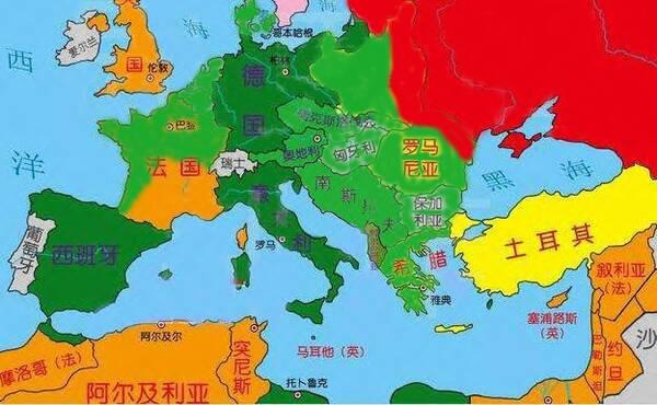 我们从德国在巴巴罗萨计划的安排中,可以看到德国在获得欧洲西线战役图片