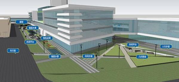 工厂景观规划设计_建科园林景观设计